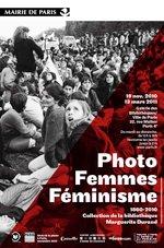 """Affiche de l'exposition """"Photo, Femmes, Féminisme"""" à la BHVP"""