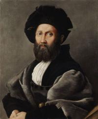 "Raphaël, ""Balthazar Castiglione"", 1514-1515, 82 x 67 cm (ill. 5)"