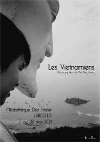 Affiche de l'exposition organisée par la Médiathèque de Lanester